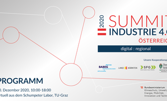 Summit Industrie 4.0 der TU Graz